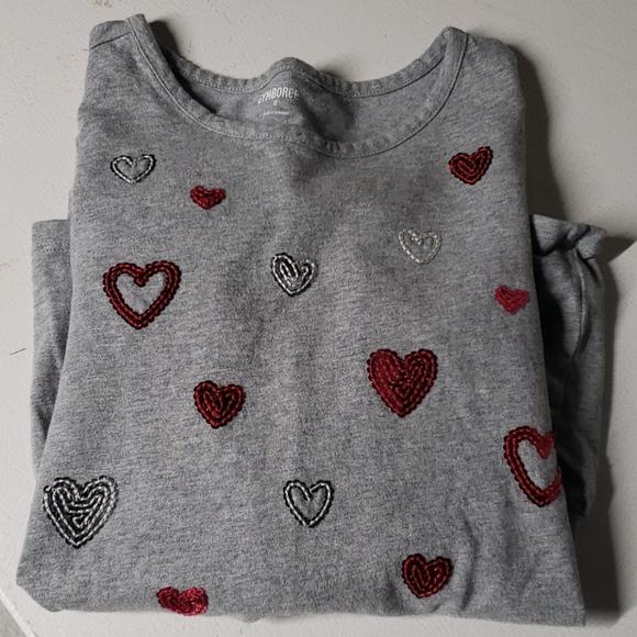 Gymboree 5t Pant Gray Heart